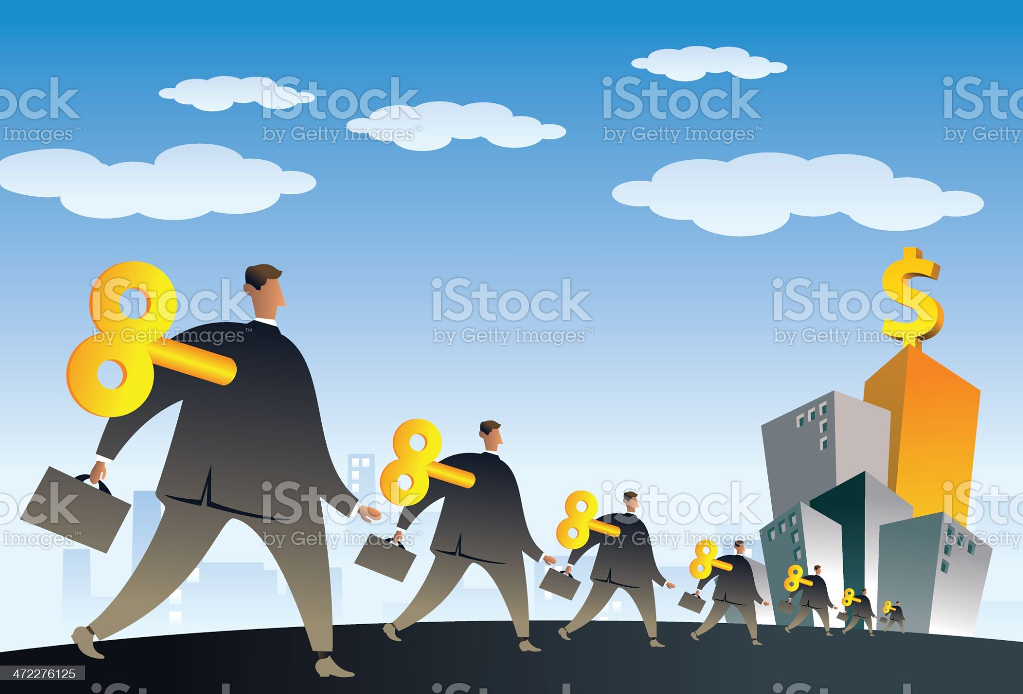 machines workers royalty-free stock vector art