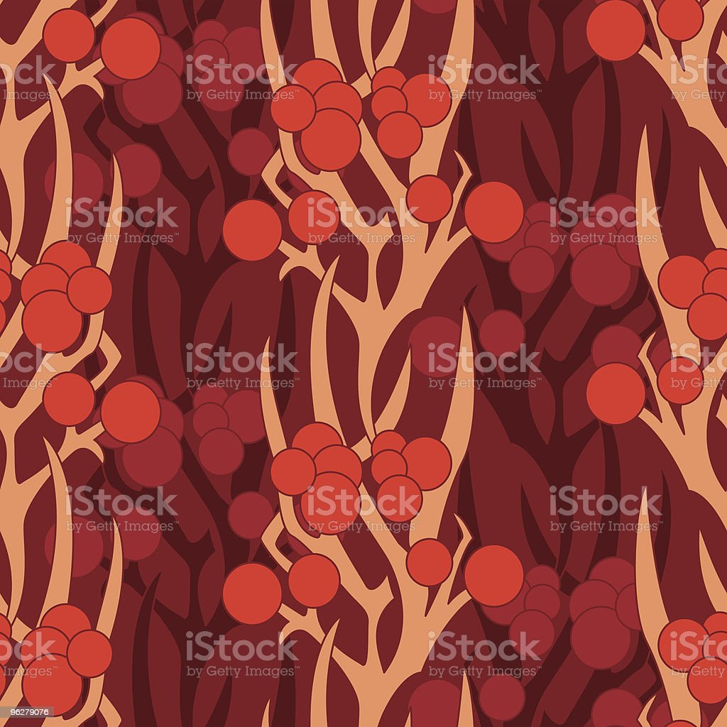 mad floral pattern royalty-free stock vector art