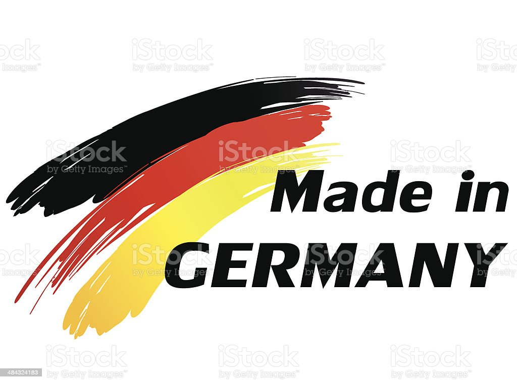 Made in germany royalty-free stock vector art