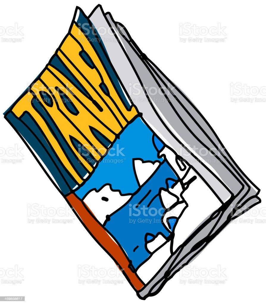 雑誌が配置された のイラスト素材 459858617 | istock