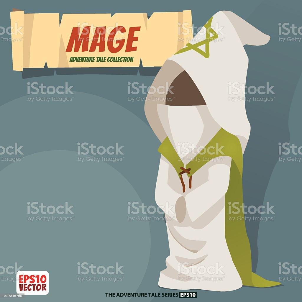 Mage royalty-free stock vector art