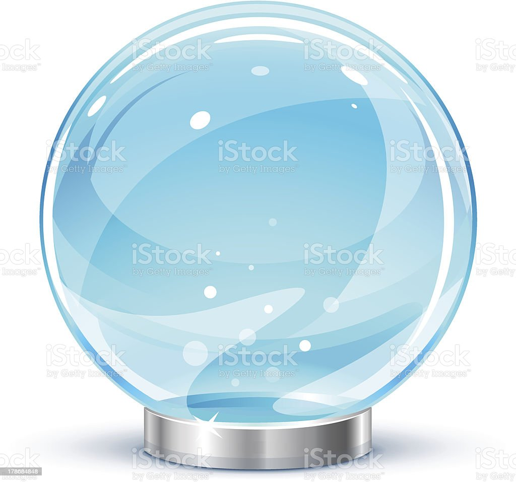 Magic ball royalty-free stock vector art