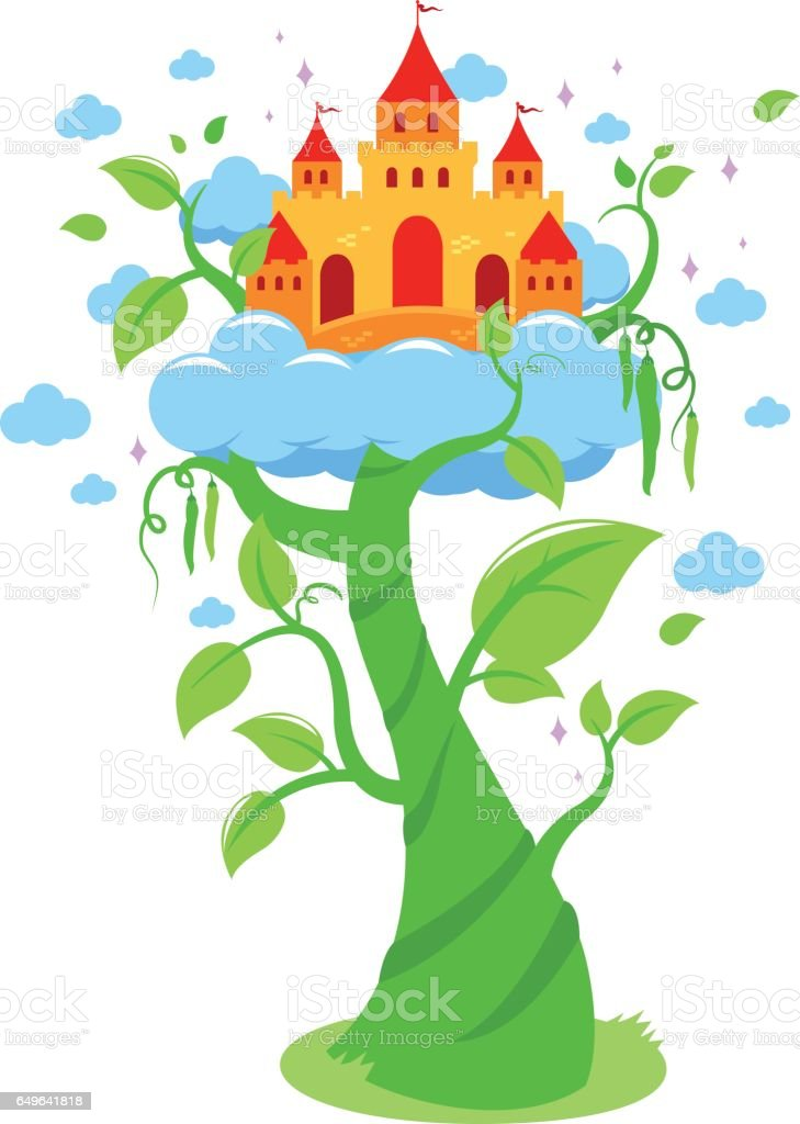 Jack And The Beanstalk Clip Art, Vector Images & Illustrations ...