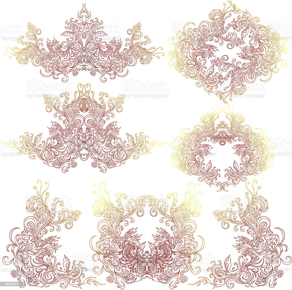magic intricacies royalty-free stock vector art