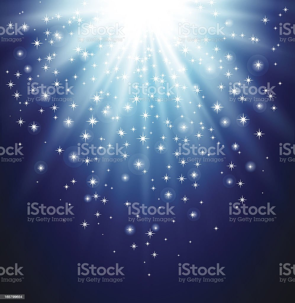 Magic light royalty-free stock vector art