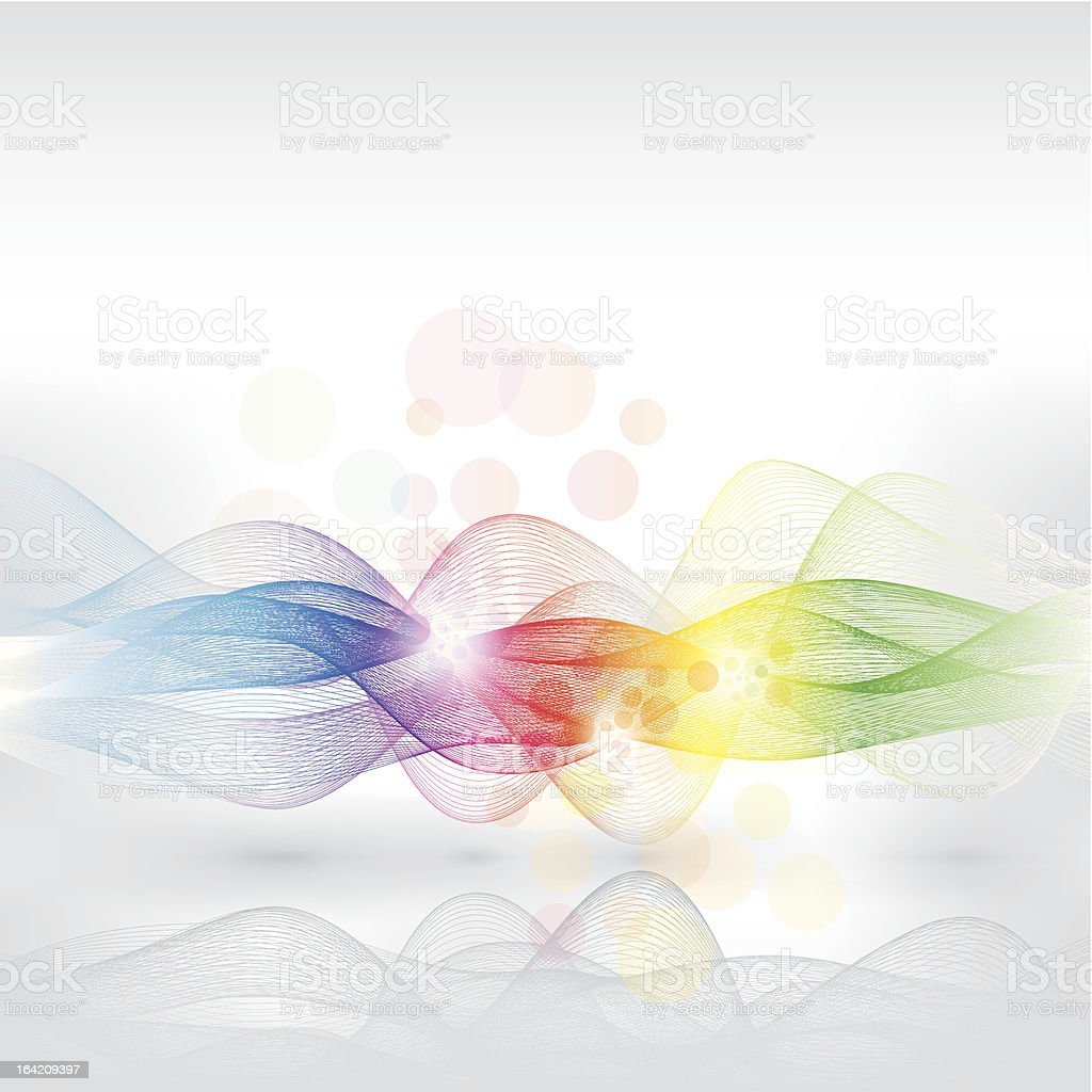 magic lines royalty-free stock vector art