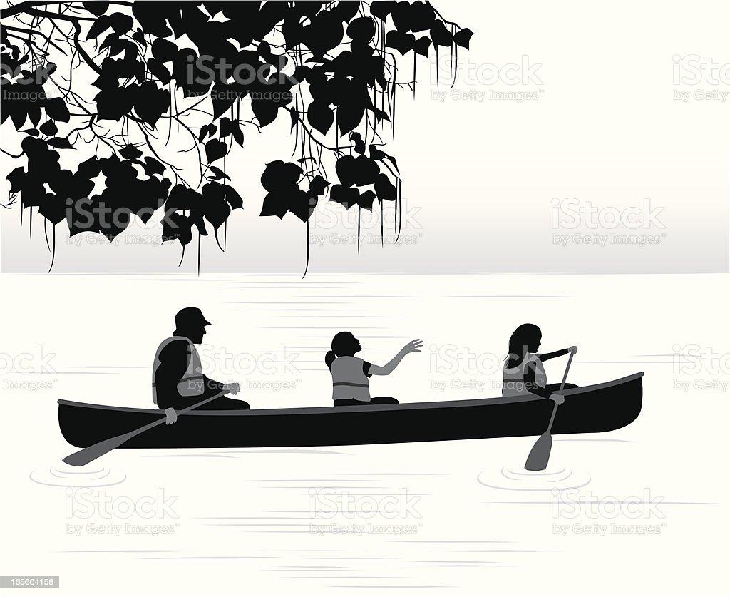 Magic Moments Vector Silhouette vector art illustration