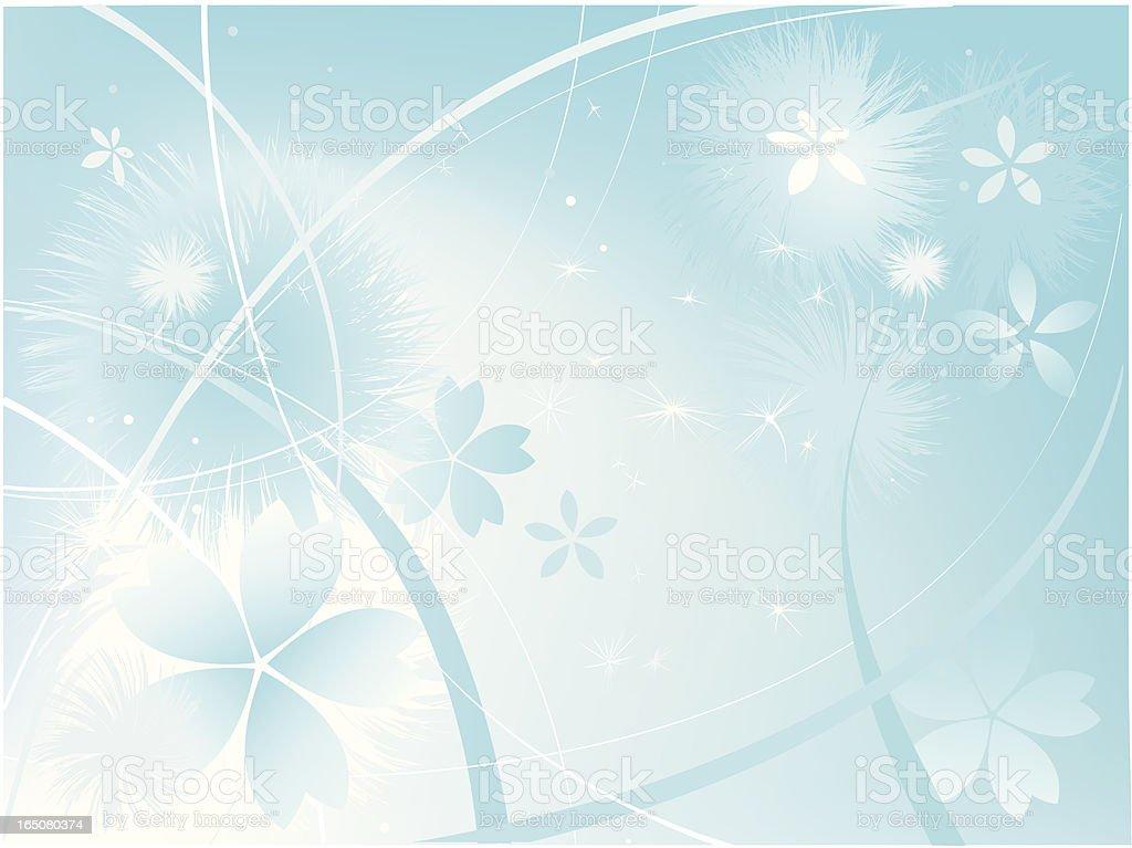 magic of flower royalty-free stock vector art
