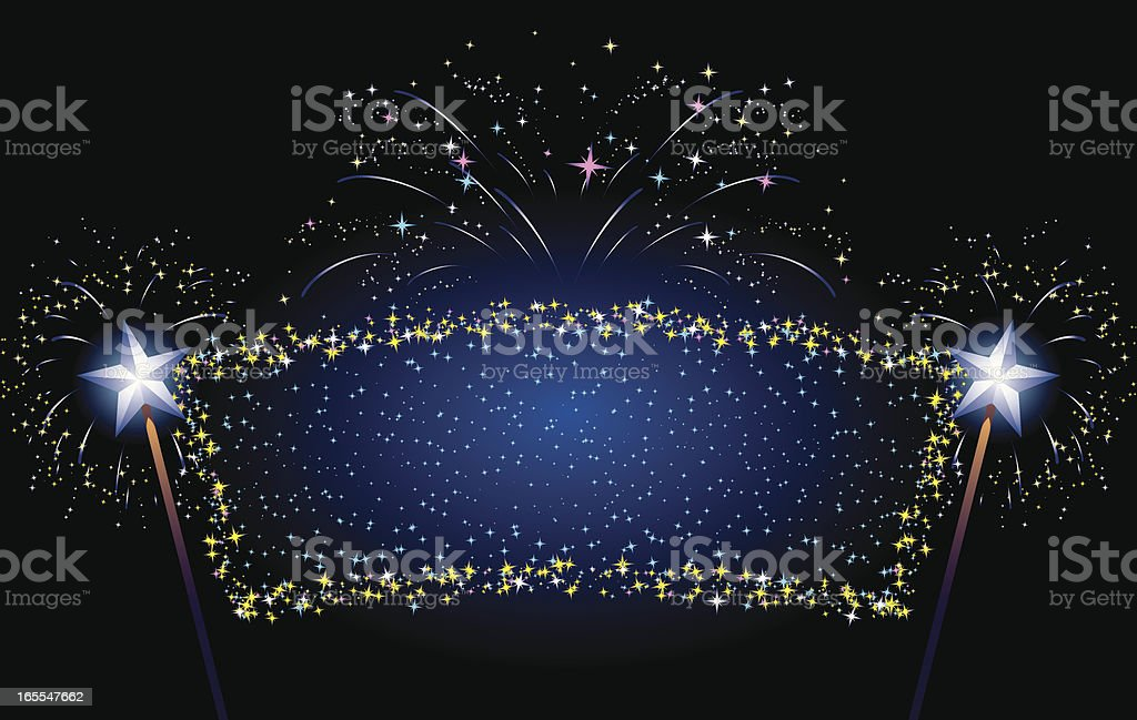 magical banner royalty-free stock vector art
