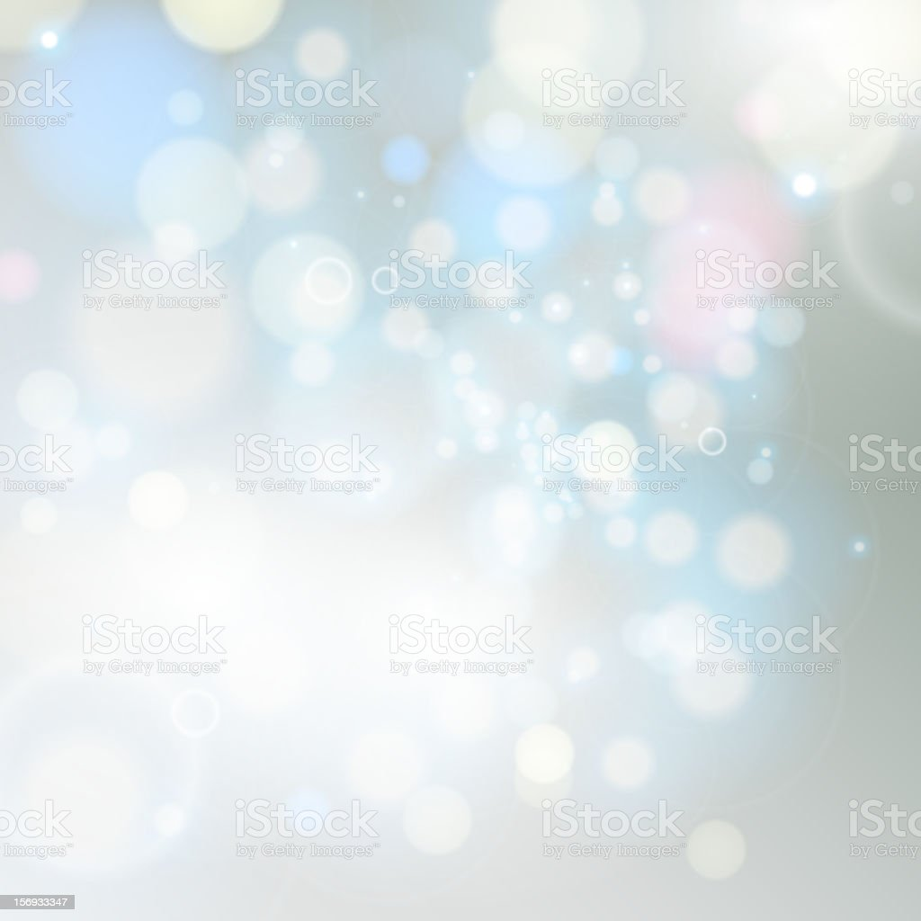 A magical lights background blurred vector art illustration