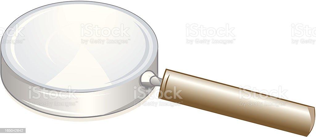Magnifier - Vector royalty-free stock vector art