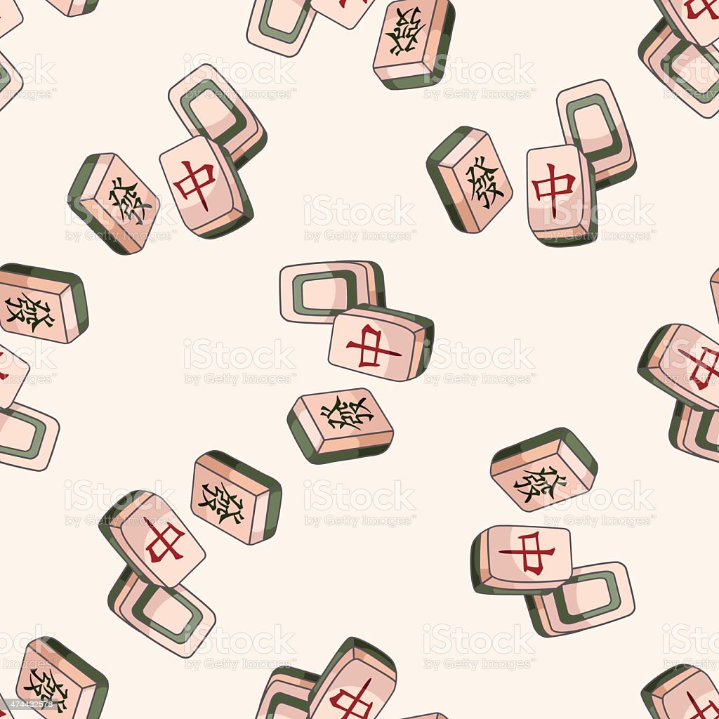Mahjong clipart