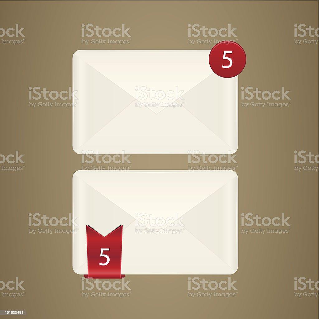 Mail box icon royalty-free stock vector art