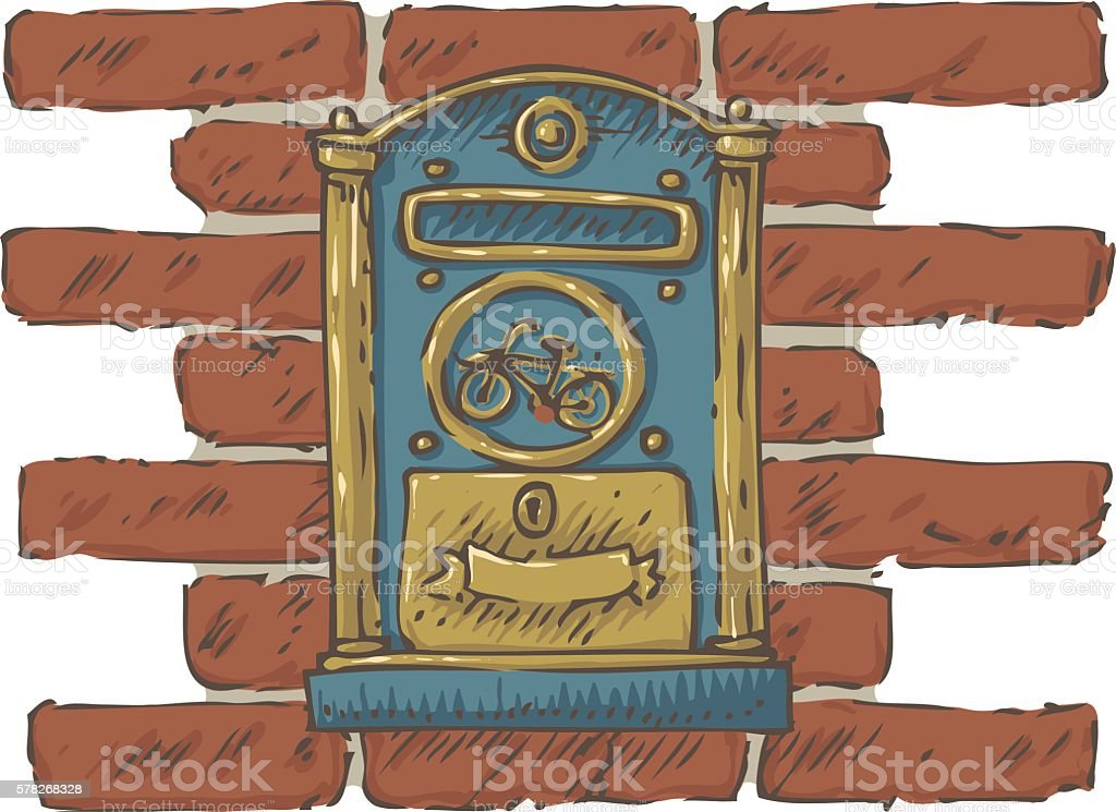 Mailbox Clip Art Wall