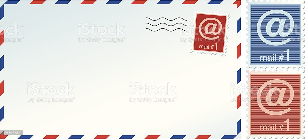 mail envelope royalty-free stock vector art