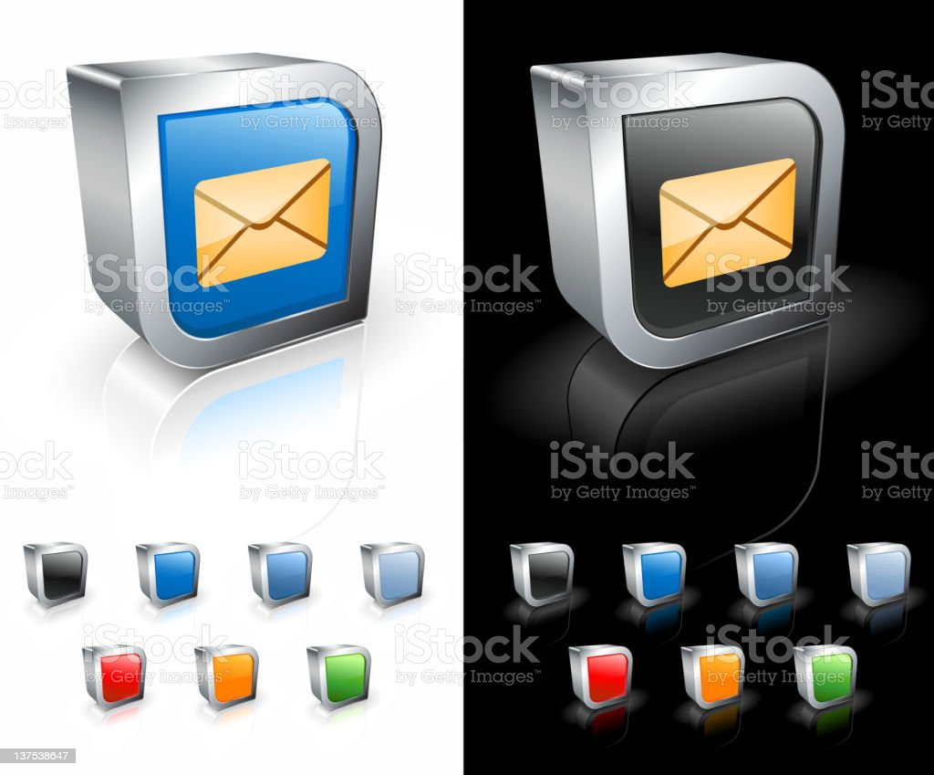 mail square royalty free vector art royalty-free stock vector art