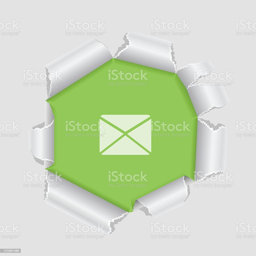 Mail symbol royalty-free stock vector art