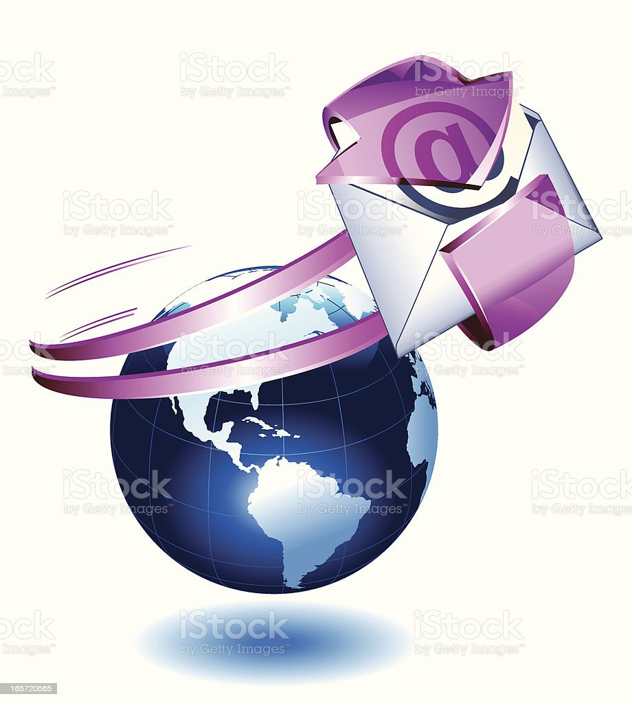 Mail royalty-free stock vector art