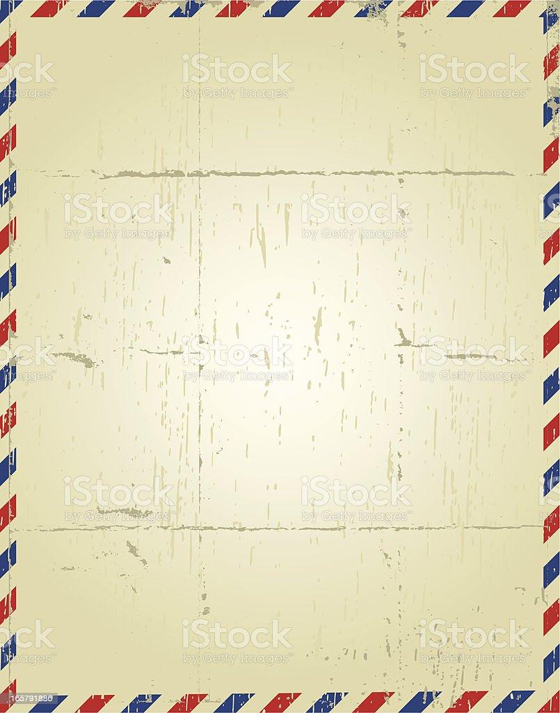 mail vintage papaer vector art illustration