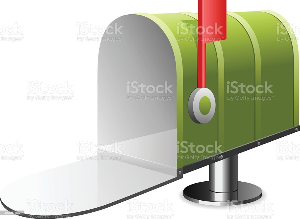 Mailbox royalty-free stock vector art
