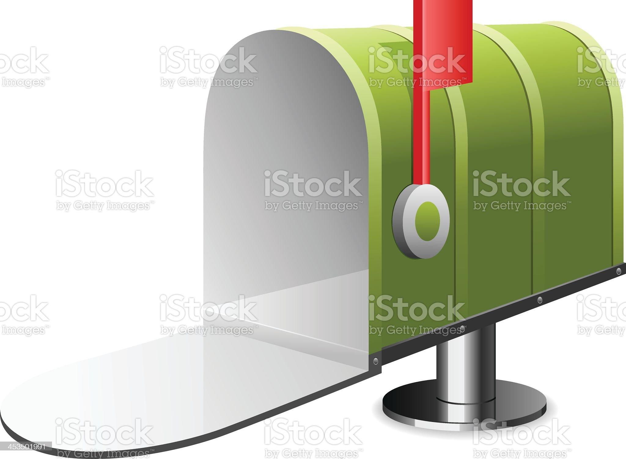 Mailbox royalty-free stock vector art