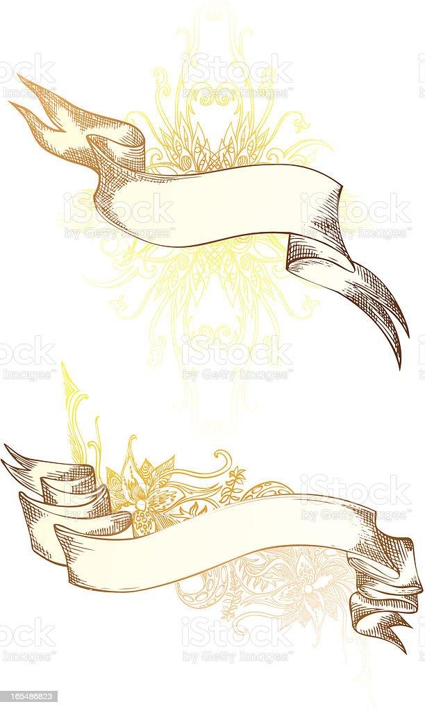majestic Girlanden Lizenzfreies vektor illustration