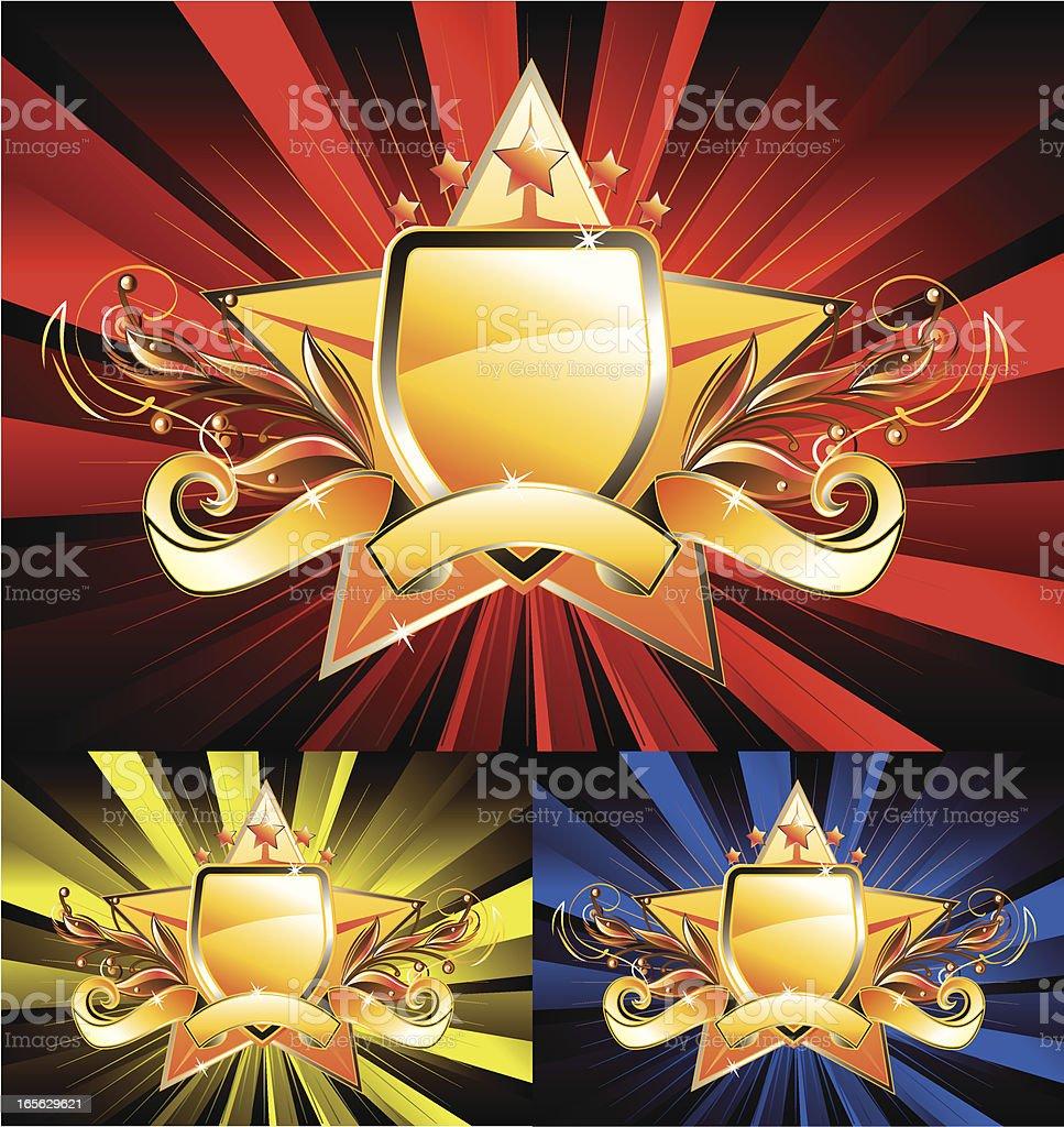 Majestic star royalty-free stock vector art