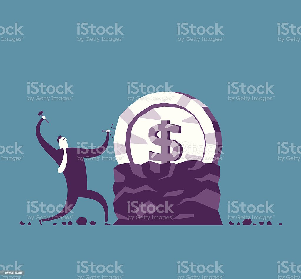 Make money royalty-free stock vector art