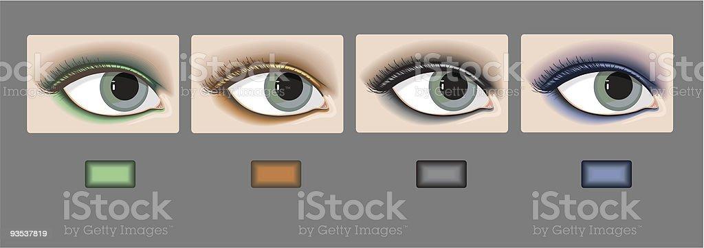 Make Up set royalty-free stock vector art