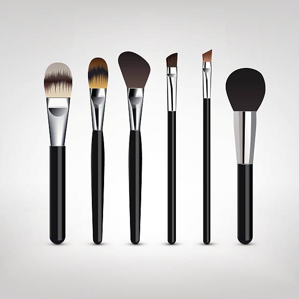 makeup brush vector - photo #3