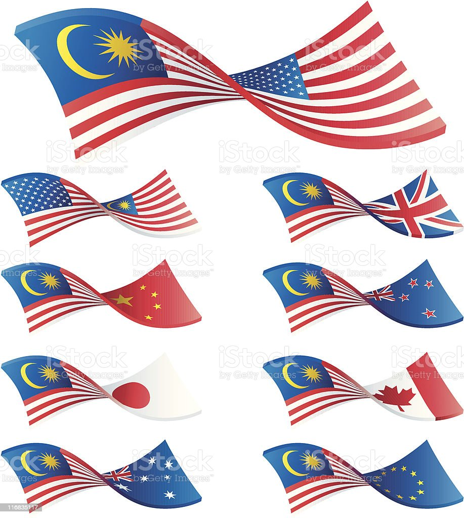 Malaysian Trading Pairs **REQUEST** royalty-free stock vector art