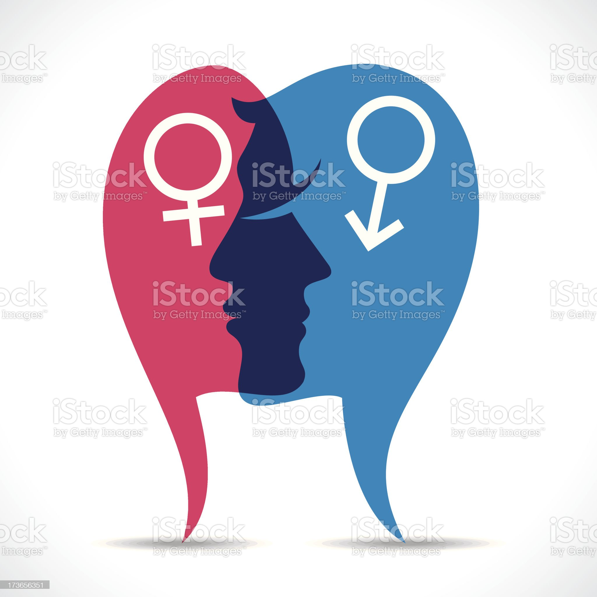 male and female icon royalty-free stock vector art