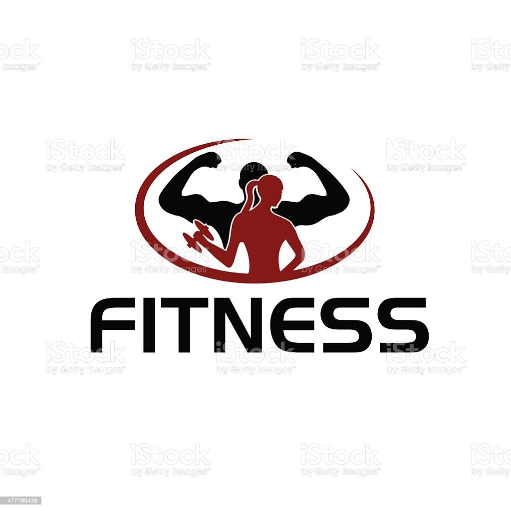 Homem E Mulher De Fitness Silhueta De Personagem De Vetor De Design De  Temperatura Vetor E Part 84
