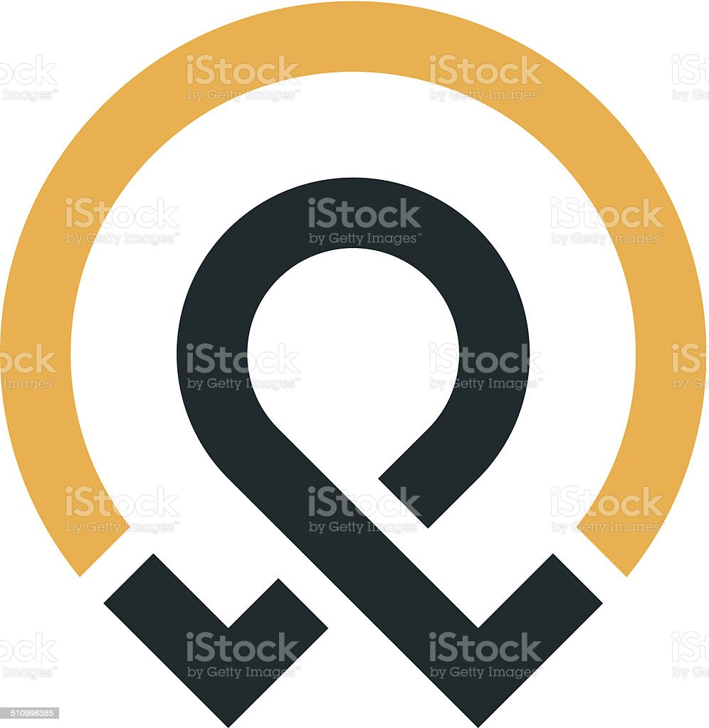 Man idea start up business social solutions logo icon vector art illustration