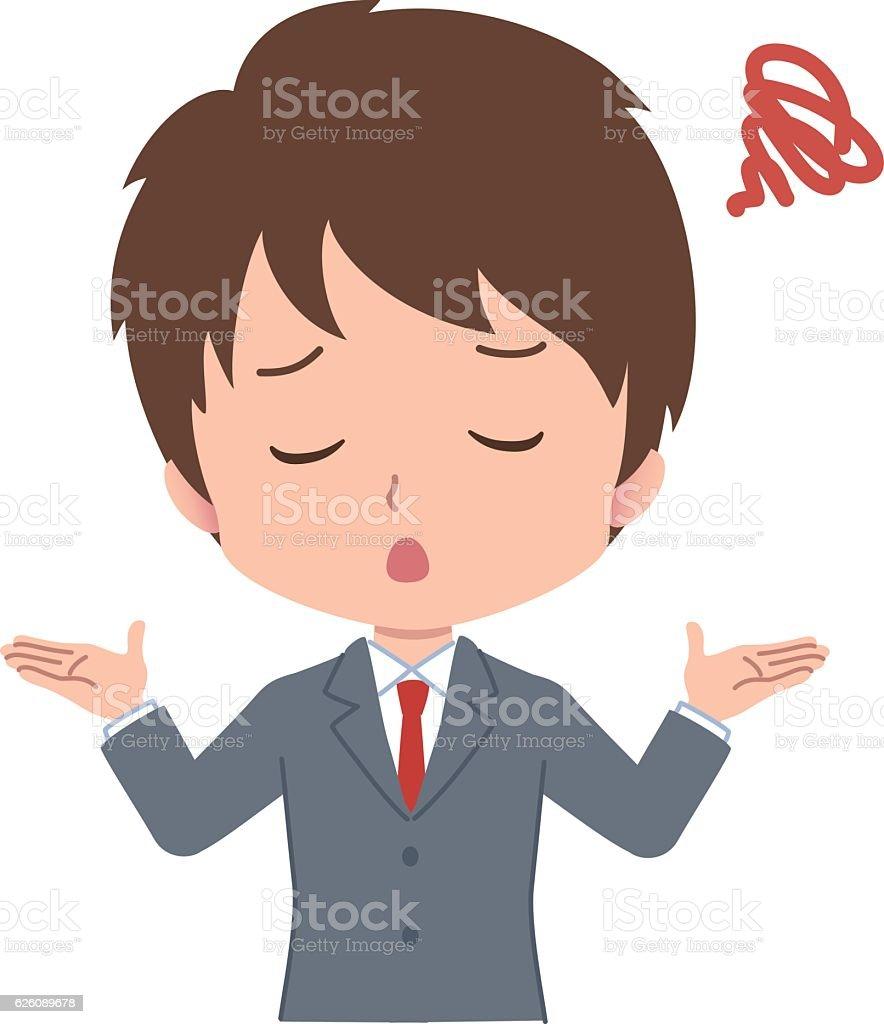 man pose vector art illustration