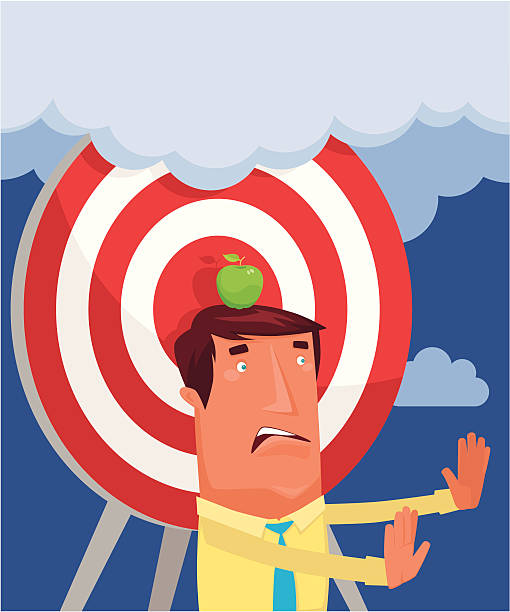 Missing Target Clip Art, Vector Images & Illustrations - iStock
