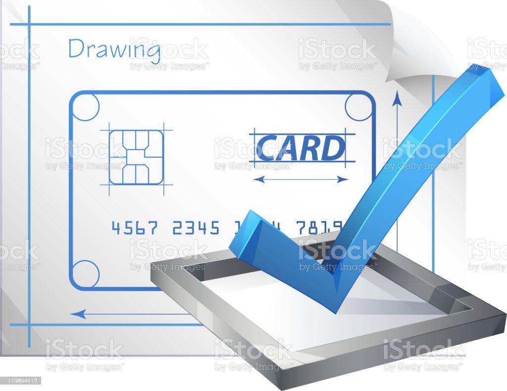 Managing Finance royalty-free stock vector art