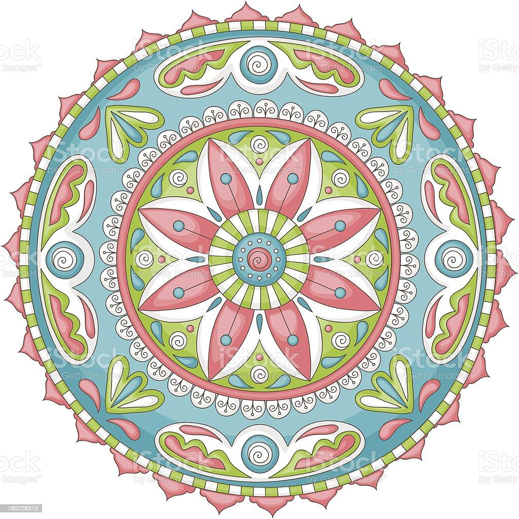 Mandala royalty-free stock vector art