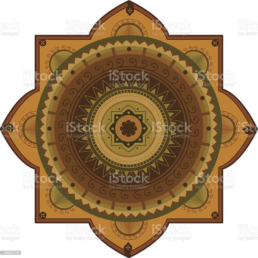 Mandala (Vector) royalty-free stock vector art