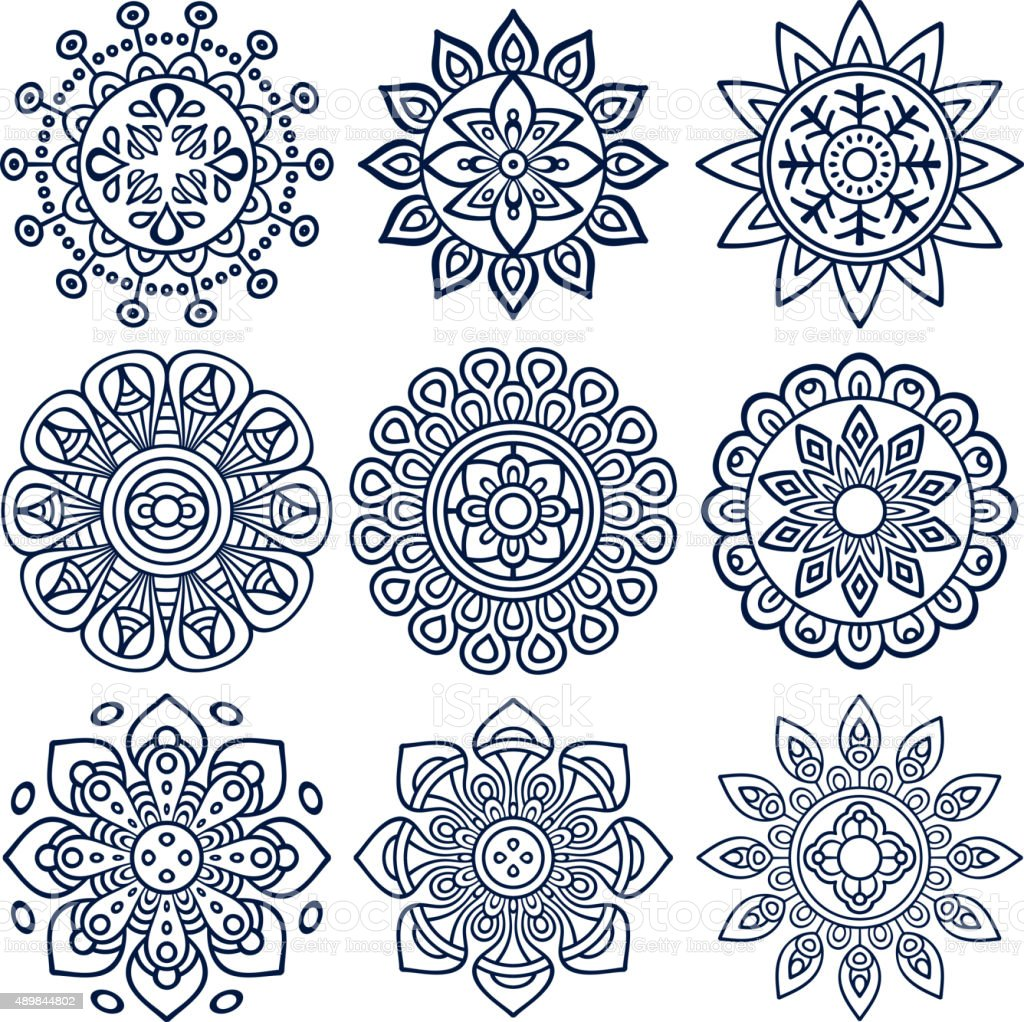 Mandala vector art illustration