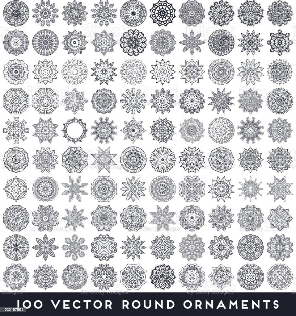 Mandala vector art illustration