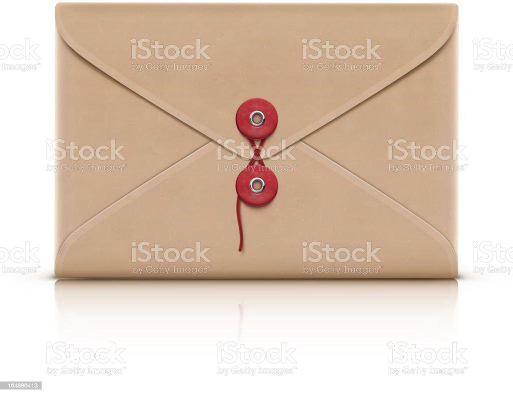 manila envelope royalty-free stock vector art