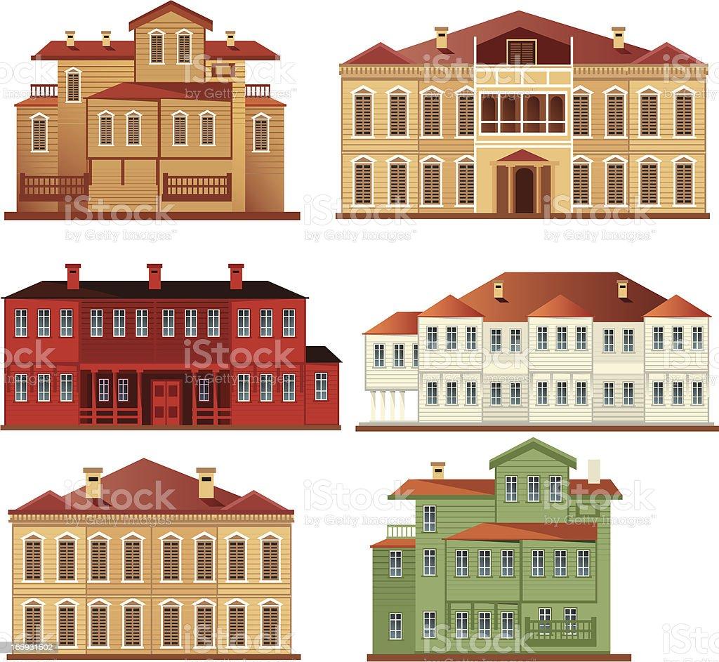 Mansion vector art illustration