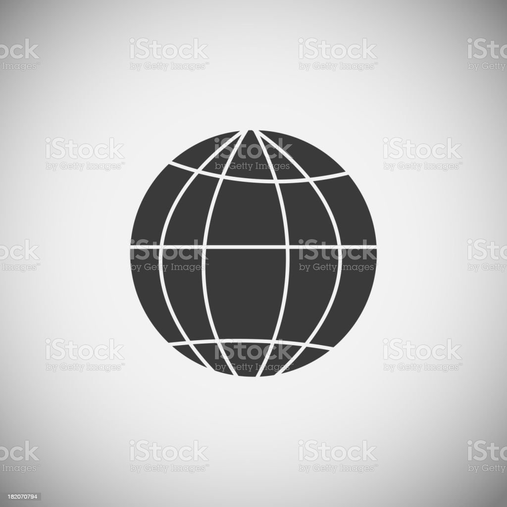 Map application icons vector illustration royalty-free stock vector art