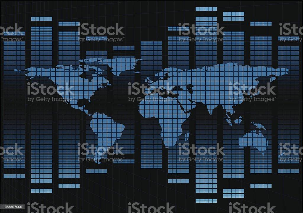 Map Diagram royalty-free stock vector art