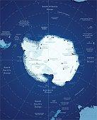 Map Of Antarctic
