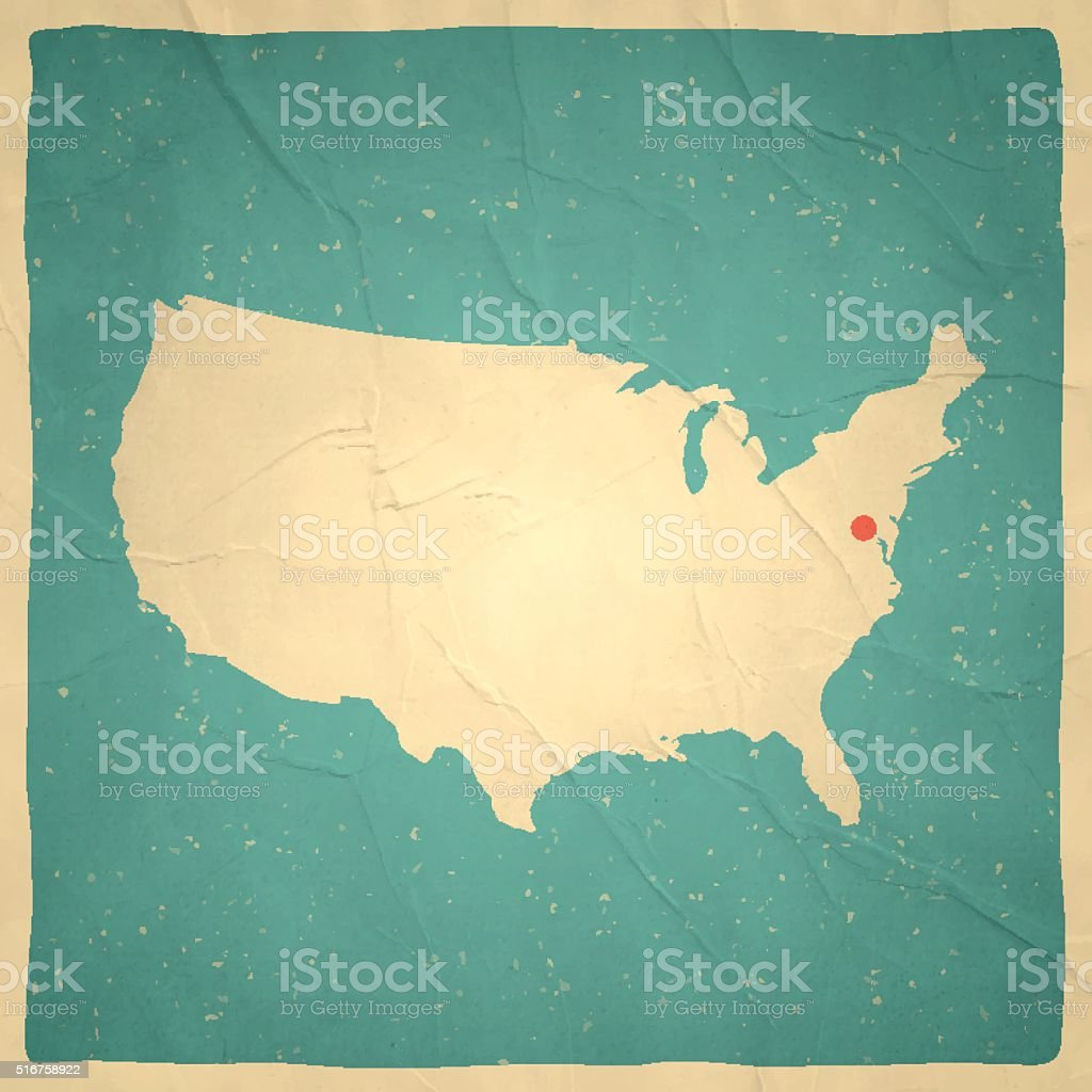 Old US Map Maps Pinterest Spain And United States Map Old - Parchment paper map of us