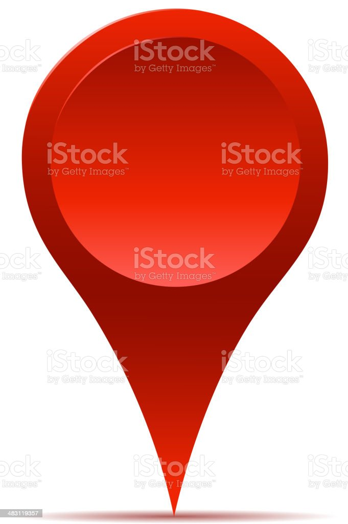 map pointer vector art illustration