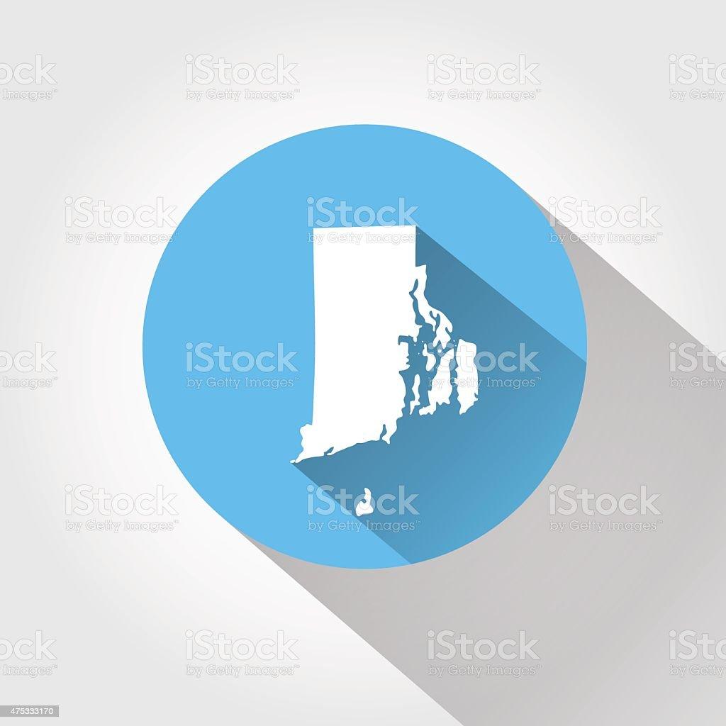 Map State Of Rhode Island Stock Vector Art 475333170 Istock