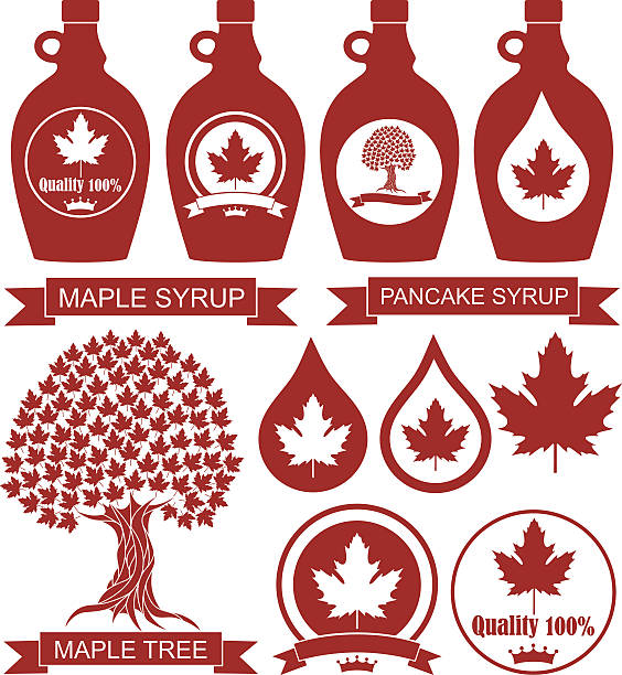 Maple Tree Clip Art Vector Images Amp Illustrations